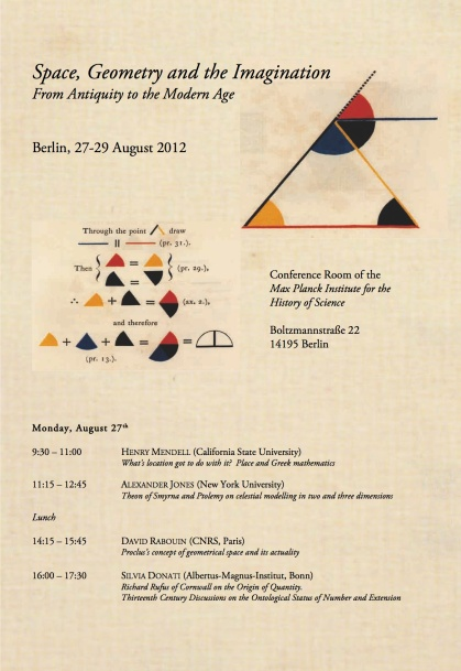 Conference: Space, Geometry and the Imagination
