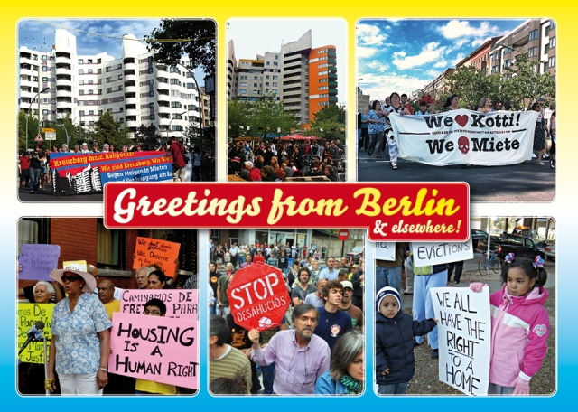 Greetings from Berlin and Elsewhere!